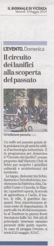 Giornale di Vicenza 09.05.14
